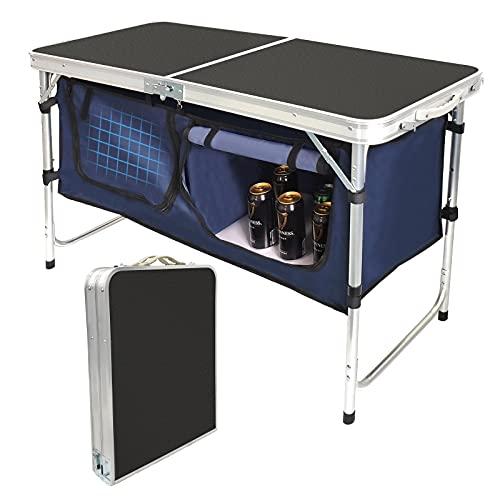 Lightweight Folding Camping Table Adjustable Indoor/Outdoor