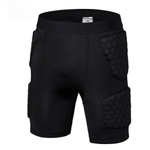 Men's Padded Shorts Compression Protective Underwear