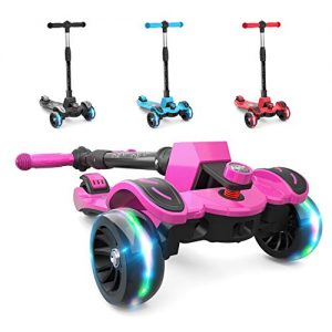 3-8 Years Old Kick Scooter with Adjustable Height