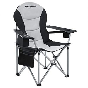 Camping Chair with Lumbar Back Support