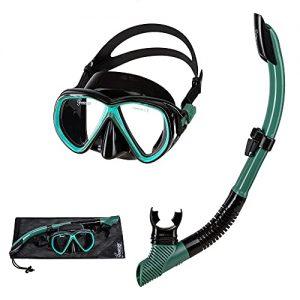 Seavenger Hanalei Snorkel and Anti-Fog Mask Set