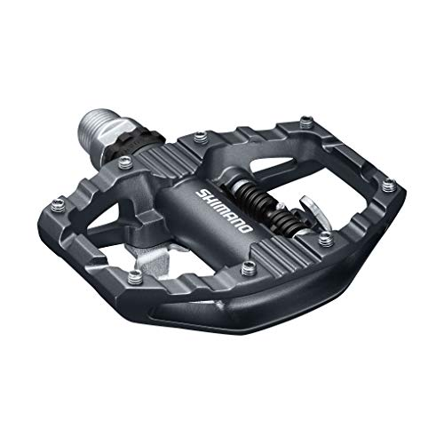 SPD Bike Pedals; Cleat Set Included; Dual Sided Platform