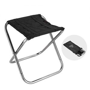 Folding Camping Pocket Stool or Backpacking Hiking Fishing Travel Outdoor Lawn