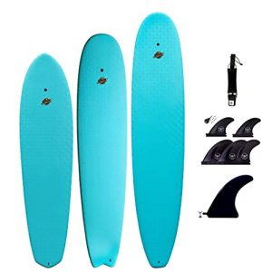 Wax-Free Tender-Prime Surfboard with Hard Epoxy Bottom Decks