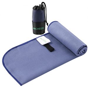Quick Drying Beach and Camping Towel or Backpacking, Gym, Swimming