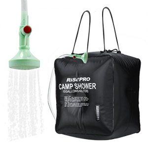 40L Solar Shower Bag Solar Heating Camping Shower Bag
