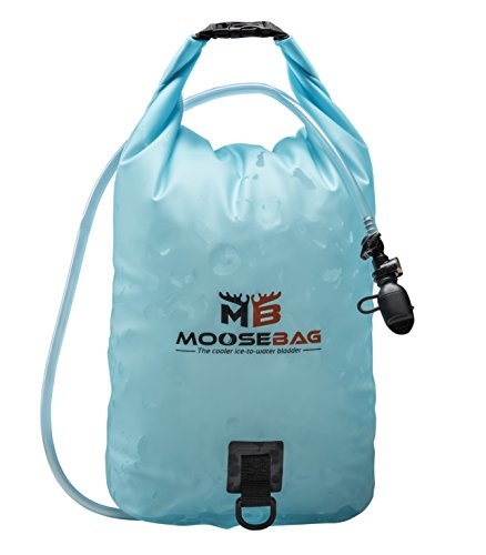 Camping Collapsible Water Container and Ice Bag wtih Hydration System