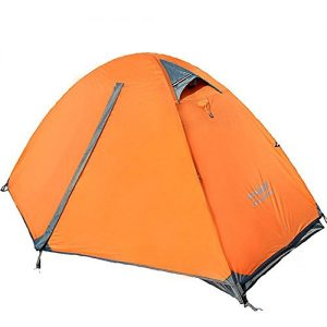 Double Layer Backpacking Tent 3-4 Season Camping Tent
