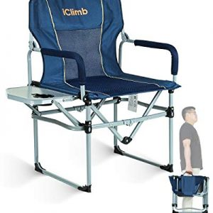 Heavy Duty Compact Camping Folding Mesh Chair