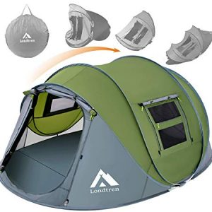 Pop Up Tents for Camping 4 Person Waterproof