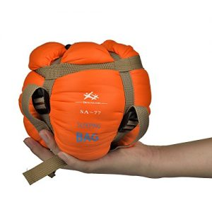Lightweight Warm Weather Sleeping Bag Camping, Backpacking, Traveling