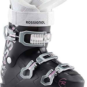 Womens Ski Boots Soft Black