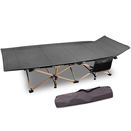 Folding Camping Cots for Adults 500lbs