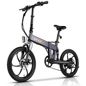 VIVI Z1 E-Bike for Adults, 20'' Folding Electric Bike for Adults