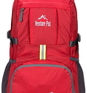 Travel Hiking Backpack Daypack (Red)
