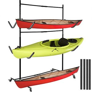 VEVOR Kayak Storage Freestanding Kayak Storage Rack