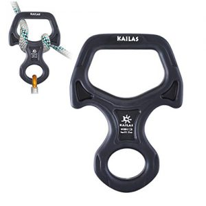 Climbing Gear Belay Device for Belaying Rock Climbing