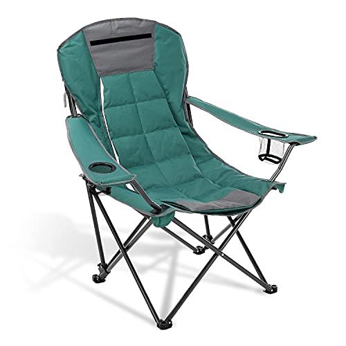 Heavy-Duty Folding Hybrid 2-in1 Camping Chair