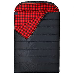 Double Sleeping Bag for Adults for Camping