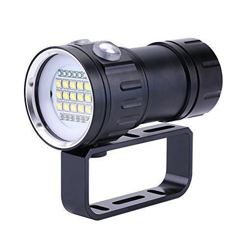 Underwater LED Diving Flashlight 18000 Lumens