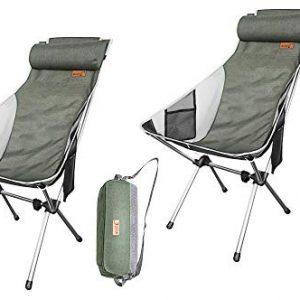 Ultralight High Back Folding Camping Chair