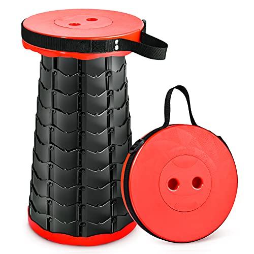 Lightweight Portable Telescoping Stool Camping Hiking Travel