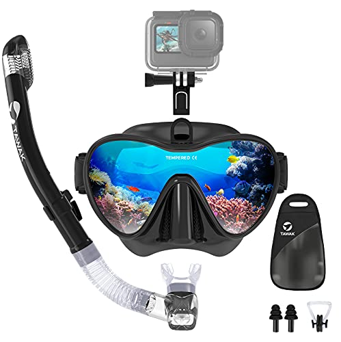 Snorkel Set with Camera Mount