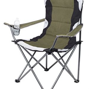 Padded Camping Folding Chair Cup Holder