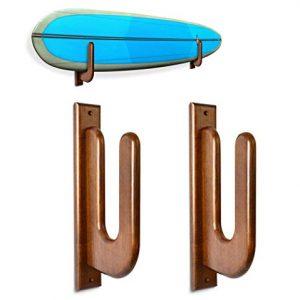 TESLYAR Surfboard Rack Holder Hooks