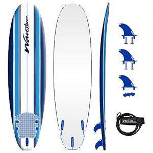 Classic Soft Top Foam 7ft Surfboard for Beginners