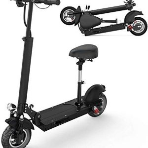 Foldable Electric Scooter Adults with Removable Seat