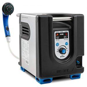 Portable Propane Water Heater & Shower Pump w/Built-in Battery