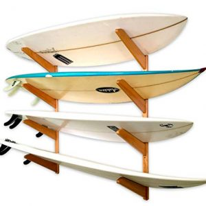 StoreYourBoard Timber Surfboard Wall Rack