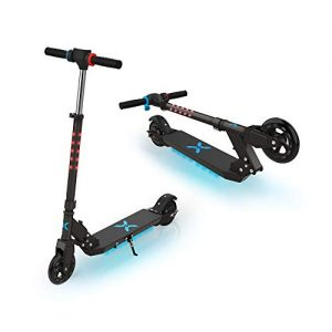 Folding Electric Scooter for Kids with LED Stem