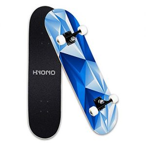 Complete Pro Skateboard with A Repair Kit for Kids/Boys/Girls