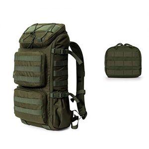 Army Green Hiking Tactical Backpack