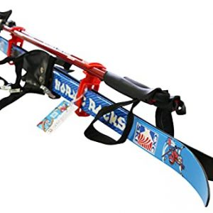 Kids Beginner Waxless Cross Country Skis Ages 6-10