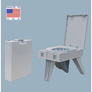 Portable Camping Toilet for Camping, Hunting, Fishing and More