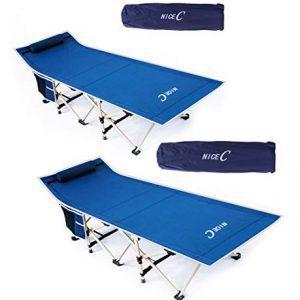 Nice C Folding Camping Cot, Sleeping Bed