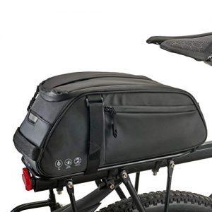 Rack Bag for Rear Rack Trunk Bag with Shoulder & Hand Strap,