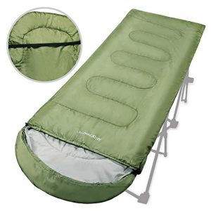 Lightweight and Portable with Compression Sack Cot Sleeping Bag for Adults