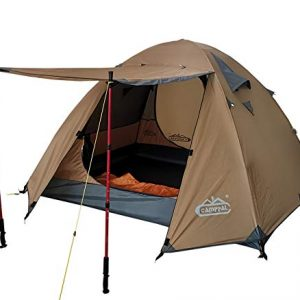 Wind and Rain Mountain Tent Super Resistance 3-4 Person