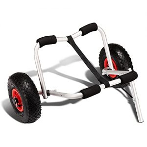 Trolley for Carrying Kayaks Collapsible Boat Carrier Wheel Cart