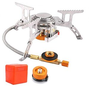 Camping Stove with Piezo Ignition Portable Camping Gas