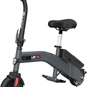Lightweight Seated Electric Scooter Adjustable Seat