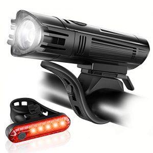 Ultra Bright USB Rechargeable Bike Light Set