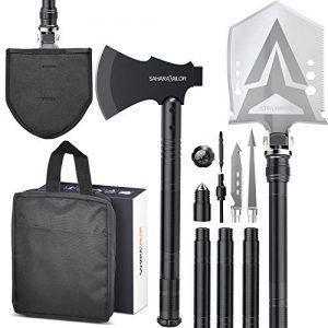 Hiking Camping Sailor Survival Shovel with Axe