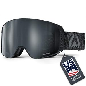 WildHorn Outfitters Pipeline Ski Goggles