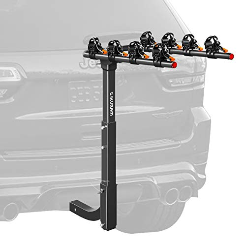 Bicycle Carrier Racks Hitch Mount Double