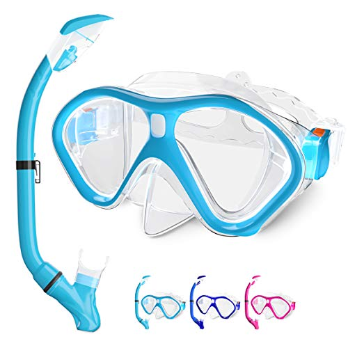 Tongtai Kids Snorkel Set,Snorkel Gear for Kid